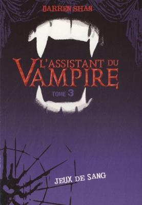 Couverture L'assistant du Vampire, tome 03 : Jeux de sang