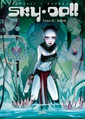 Couverture Sky Doll, tome 2 : Aqua