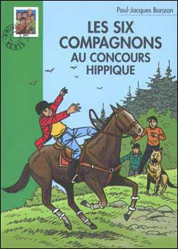 Couverture Les Six Compagnons au concours hippique