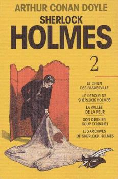 Couverture Sherlock Holmes, intégrale, tome 2