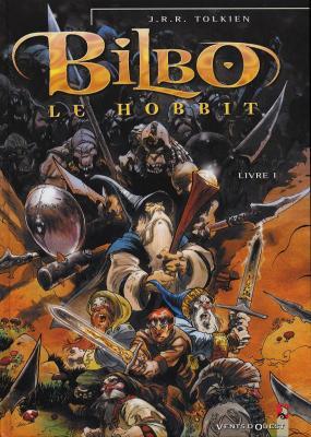 Couverture Bilbo le Hobbit (BD), tome 1