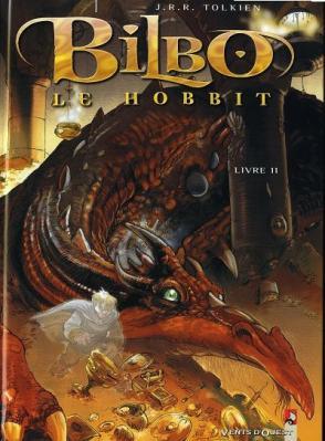 Couverture Bilbo le Hobbit (BD), tome 2