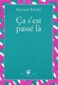 Couverture Ça s'est passé là Editions Thierry Magnier (Petite poche) 2010