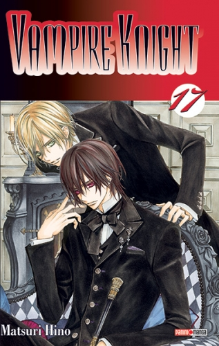Couverture Vampire Knight, tome 17