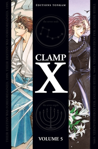Couverture X, double, tome 5