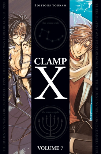 Couverture X, double, tome 7