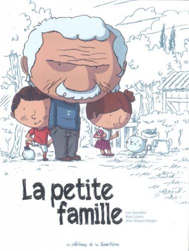 Couverture La petite famille, intégrale