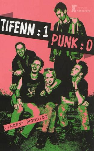 Couverture Tifenn : 1 Punk : 0