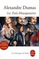 Couverture Les Trois Mousquetaires Editions Le Livre de Poche (Les Classiques de Poche) 2011