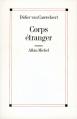 Couverture Corps étranger Editions Albin Michel 1998