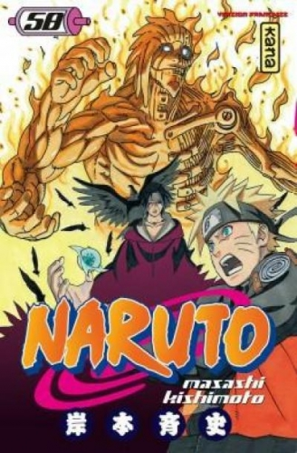 Couverture Naruto, tome 58