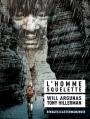Couverture L'homme squelette Editions Rivages/Casterman (Noir) 2011