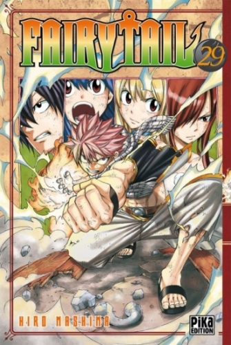 Couverture Fairy Tail, tome 29