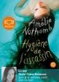 Couverture Hygiène de l'assassin Editions Audiolib 2012
