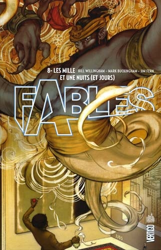 Couverture Fables (cartonné), tome 08 : Les mille et une nuits (et jours)