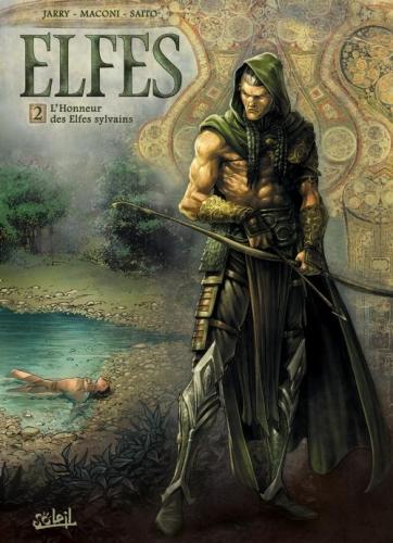 Couverture Elfes, tome 02 : L'honneur des elfes sylvains