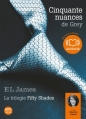 Couverture Cinquante nuances de Grey, tome 1 Editions Audiolib 2012