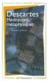 Couverture Méditations métaphysiques Editions Flammarion (GF - Bilingue) 1979