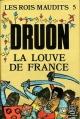 Couverture Les rois maudits, tome 5 : La louve de France Editions Le Livre de Poche 2000