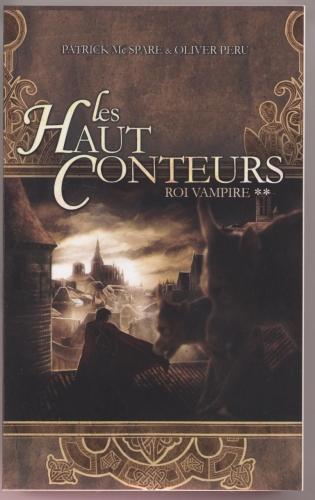 Couverture Les haut conteurs, tome 2 : Roi vampire
