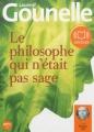 Couverture Le philosophe qui n'était pas sage Editions Audiolib 2013