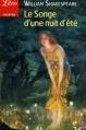 Couverture Le songe d'une nuit d'été Editions Librio (Théâtre) 2007