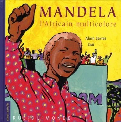 Couverture Mandela : L'Africain multicolore