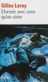 Couverture Dormir avec ceux qu'on aime Editions Folio  2012