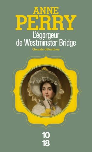 Couverture L'Egorgeur de Westminster Bridge