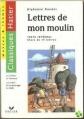 Couverture Lettres de mon moulin Editions Hatier (Classiques - Oeuvres & thèmes) 1996