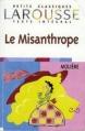 Couverture Le misanthrope / Le misanthrope ou l'atrabilaire amoureux Editions Larousse (Petits classiques) 1998