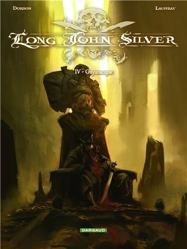 Couverture Long John Silver, tome 4 : Guyanacapac