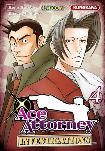 Couverture Ace Attorney : Investivations, tome 4