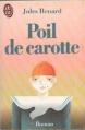 Couverture Poil de carotte Editions J'ai Lu 1986
