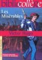 Couverture Les Misérables, extraits Editions Hachette (Biblio collège) 2001