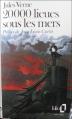 Couverture 20 000 lieues sous les mers / Vingt mille lieues sous les mers Editions Folio  1978