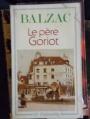 Couverture Le Père Goriot Editions Flammarion (GF) 1993