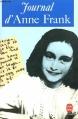 Couverture Le journal d'Anne Frank Editions Le Livre de Poche 1959