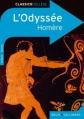 Couverture L'Odyssée, abrégée Editions Belin / Gallimard (Classico - Collège) 2010