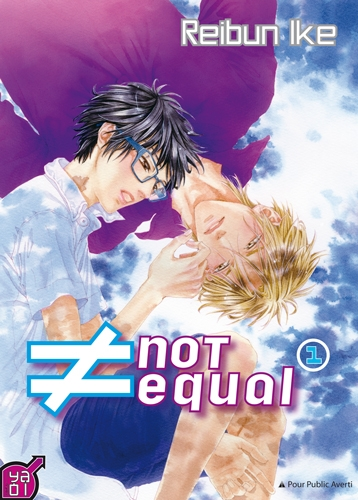 Couverture Not Equal, tome 1