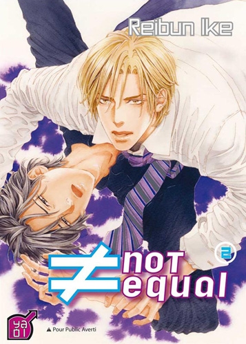 Couverture Not Equal, tome 2