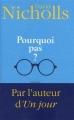Couverture Pourquoi pas ? Editions France loisirs 2013