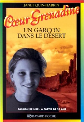 Couverture Un garçon dans le désert