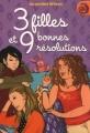 Couverture 3 filles et 9 bonnes résolutions / 9 bonnes résolutions Editions France Loisirs (IgWan) 2007