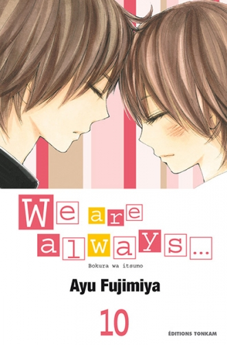 Couverture We are always..., tome 10