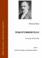 Couverture Tess d'Urberville Editions Ebooks libres et gratuits 2013
