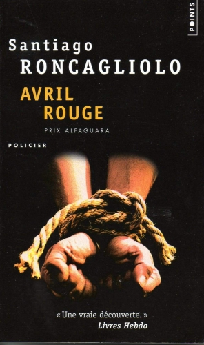 Couverture Avril rouge