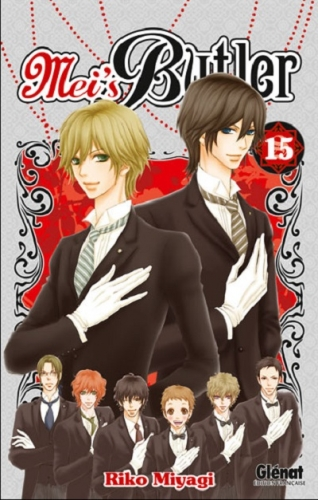 Couverture Mei's butler, tome 15