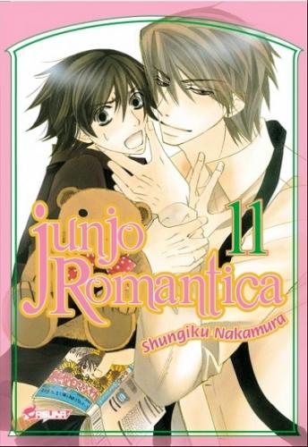 Couverture Junjo Romantica, tome 11