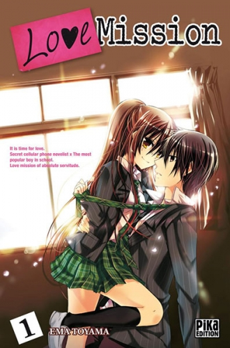 Couverture Love Mission, tome 01
